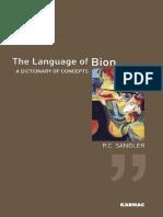The Language of Bion - Sandler