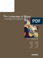 The Language of Bion - Sandler
