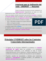 Comercio Internacional - Unidroit
