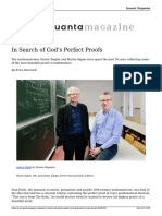 Gunter Ziegler and Martin Aigner Seek Gods Perfect Math Proofs 20180319