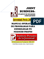A Manual de Programas Empresariales Guía Joint Business (Revisión Final) (2)