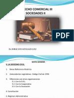 Derecho Comercial III (Sociedades II) - 6 Semana