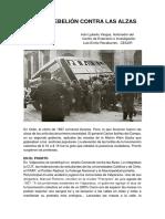 Luchas y Represión en El Otoño de 1957, por Iván Ljubetic