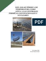 Energia Solar Termica de Alta Temperatura