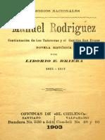 Brieba, Liborio- Manuel Rodríguez