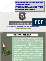 2. Materi Implementasi Kebijakan Pengawasan Tenaga Kerja Asing (Umg)