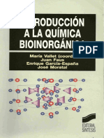 Química Bioinorgánica Parte I - Vallet