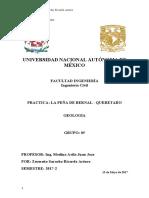 Geologia Practica 3-Peña de Bernal