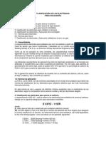 Clasificación de Los Electrodos (1)