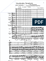 Schubert Symphony No. 8 Mvt 1 Opening Pages