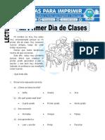 Ficha de Mi Primer Día de Clases Para Primaria (1)