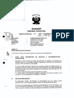 Derecho Comercial III (Sociedades II) - 705-2007- Regularizacion de Sociedad