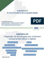 Indústria 4.0 a Nova Fronteira Da Competitividade