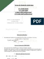 5-ÁCIDO-BASE VOLUMETRIA Curvas de Titulación Ácido-base