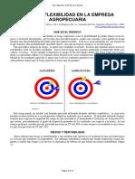 13-Riesgo y Flexibilidad en La Empresa Agropecuaria