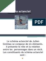 Le Schéma Actanciel
