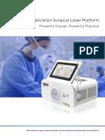 M2 Multi Application Surgical Laser