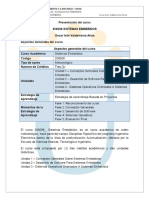 Presentación Del Curso 208006 SISTEMAS EMBEBIDOS Oscar Iván