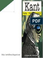 Want Christopher - Kant Para Principiantes.pdf