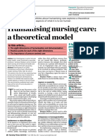 021012 Humanising Nursing Care a Theoretical Model (1)