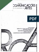 KOUDELA, Ingrid Dormien - Brecht e o Jogo Teatral Infantil