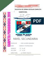 Carpeta Pedagogica Hampatura 2018.