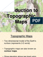 Introduction to Topo Maps