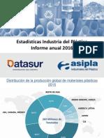 Estadísticas ASIPLA 2016 Datasur