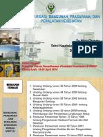 Kebijakan Bangunan, Prasarana, Dan Peralatan Kesehatan (Aceh)
