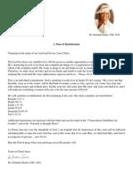 Rededication Letter Dr Stacks April 2018