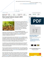 Best Mutual Funds to Invest in 2018 _ the Economic Times