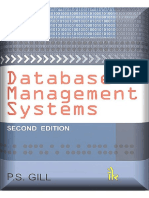 Database Management Systems PS Gill