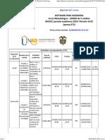 Agenda - Software Para Ingenieria - 2018 i Periodo 16-02 (Peraca 472)