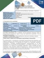 Guía de actividades y rúbrica de evaluación - Fase 1 - Reconocimiento de contenidos y pre saberes del curso.docx