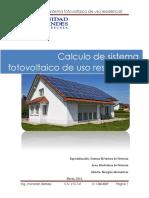 Trabajo de Sistema Fotovoltaico_Jhonatan Berbesi