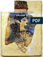 The Pre-Greek Substrate and Its Origins