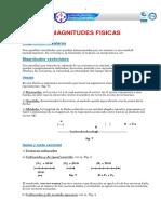 Magnitudes Fisicas y Vectores