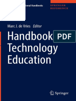 - International Handbook of Technology Education (2017, De Vries, Marc, Springer Verlag)
