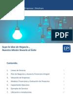 Brochure EPI Consultores.