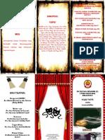 Brochure Kelab Teater
