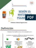 Sesión 15_Materiales Poliméricos