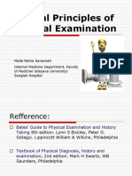 BCS General Principles of Physical Examination