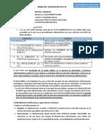 Administrativo Actos Procedimientos