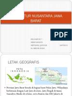 Arsitektur Nusantara Jawa Barat