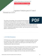 Los 10 Mejores Programas Gratuitos Para El Control Parental en El 2017