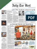 The Daily Tar Heel for September 16, 2010