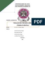 Informe de Puentes Acueductos y Alcantarillas