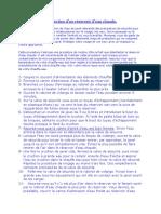 Procedure Desinfection Reservoir Eau Chaude
