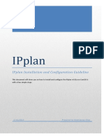 Ipplan Installation and Configuration Guideline Centos 6