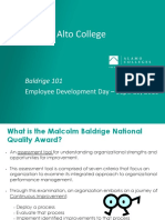 Introduction to Baldrige-EDD v2
